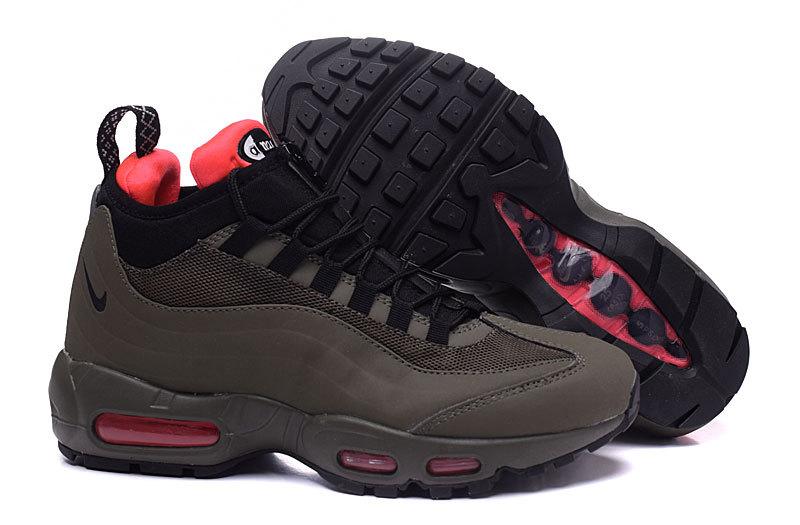 nike air max 95 zwart rood