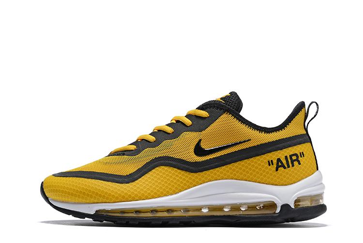 18fe8a27476 Nike Air Max 97 SE Heren Sneakers - Geel/Zwart - Sneakerstad