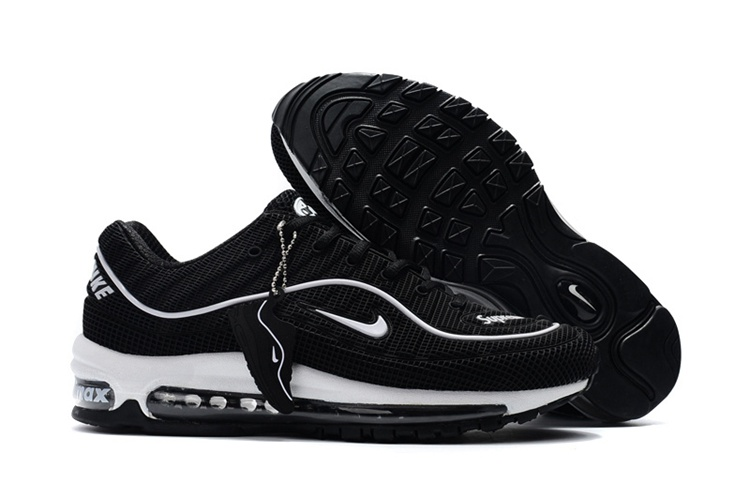 2904bf2f0d7 Nike Air Max 98 Supreme 2018 Unisex Sneakers – Zwart/Wit