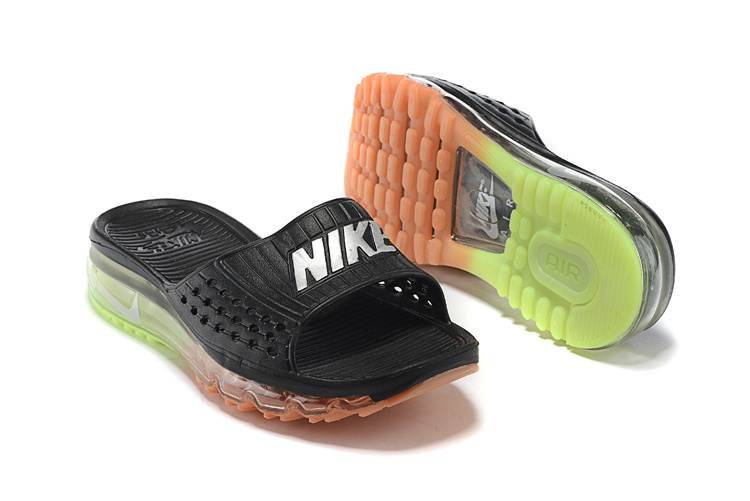 Nike Airmax Full Air Traction Heren Slippers Zwart Sneakerstad