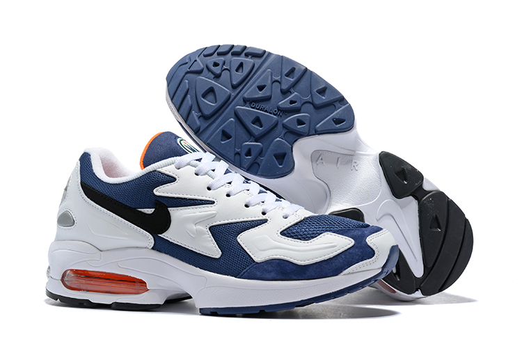 Nike Air Max 2 Light 2019 Heren Sneakers DonkerblauwWit