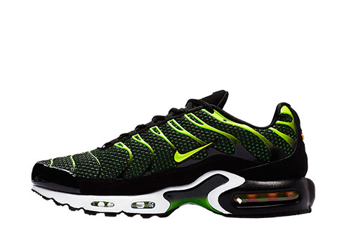 nike air max plus groen