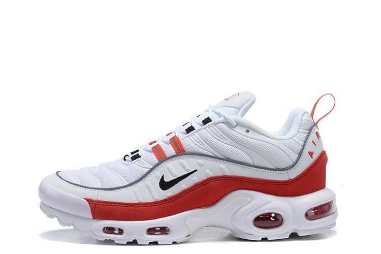 nike air max plus zwart wit
