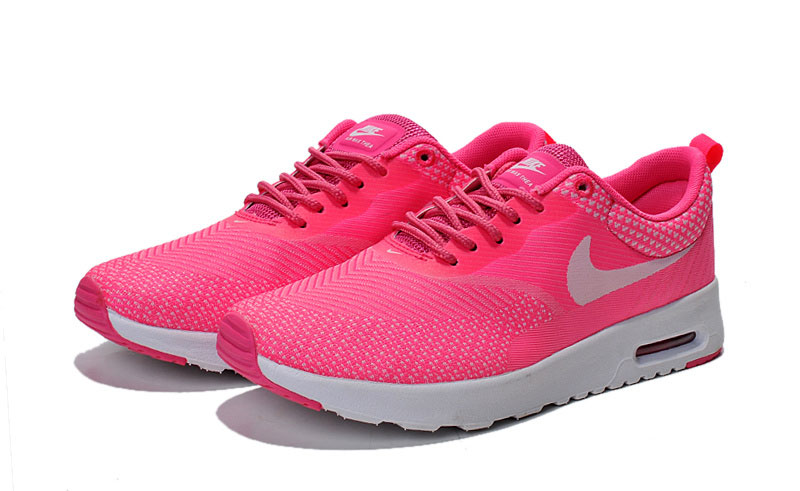 nike air max thea roze wit