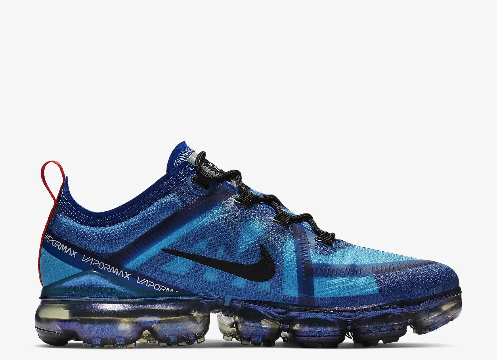 Nike Air VaporMax 2019 heren sneakers blauw vind je in Sneakerstad
