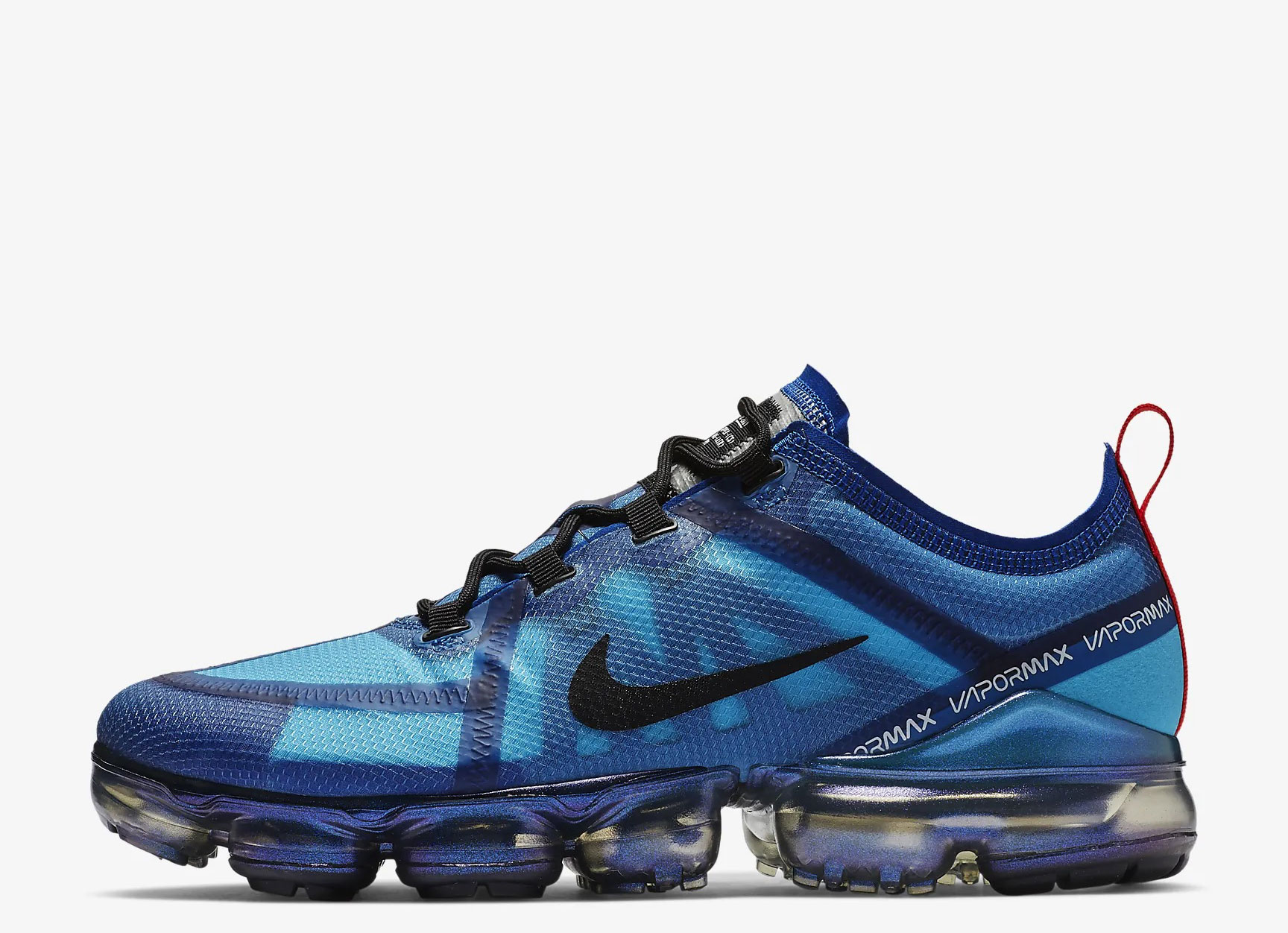 Nike Air VaporMax 2019 heren sneakers blauw