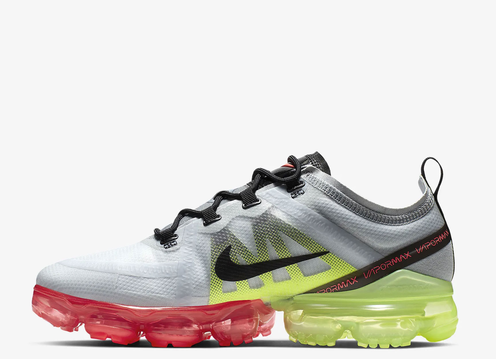 Nike Air VaporMax 2019 heren sneakers pure platinum