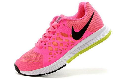 d7da8fa3a12 Nike Air Zoom Pegasus 31 Dames Sneakers – Roze/Oranje/Zwart/Wit