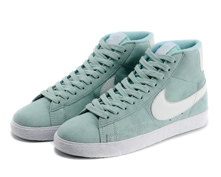 Nike Blazer Mid Premium Dames Sneakers MintgroenWit