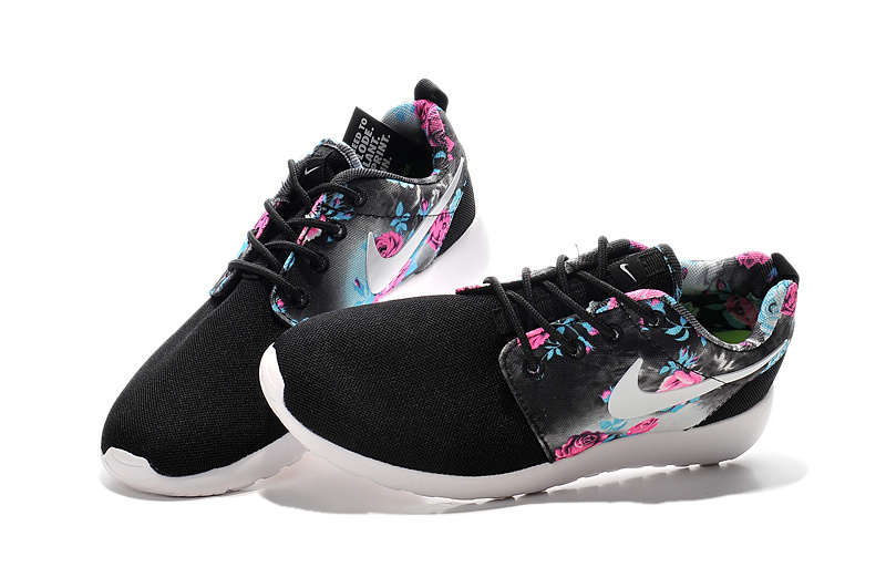 nike roshe run dames zwart