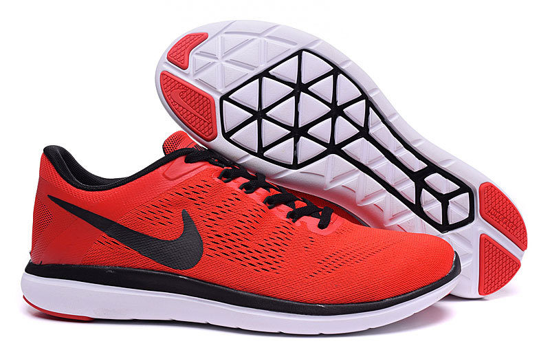 6d555a968f5 Nike Flex Run RN 2016 Unisex Sneakers – Rood/Zwart/Wit