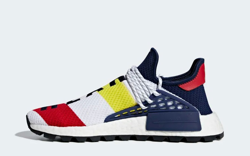 915b63ad37f Adidas Pharell Williams bcc hu nmd sneakers blauw/wit vind je in ...
