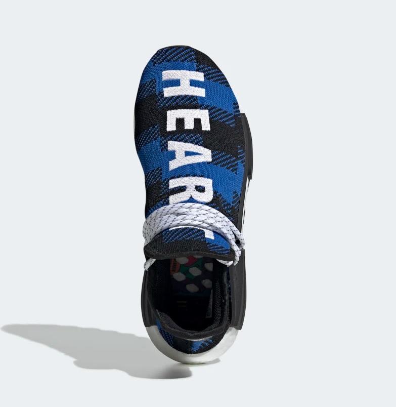 43bf7253fed Adidas Pharell Williams bcc hu nmd sneakers blauw/zwart vind je in ...