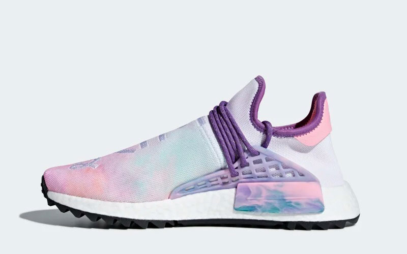 Adidas Pharell Williams hu holi nmd dames sneakers witpaars