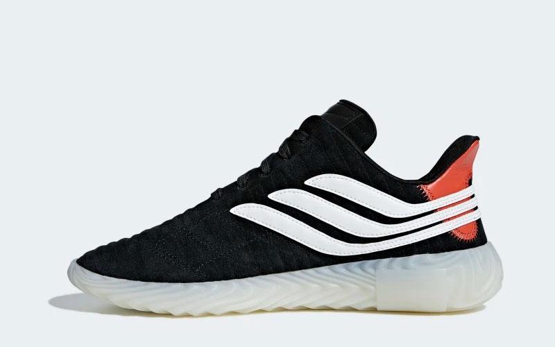 Adidas sobakov sneakers zwartwit