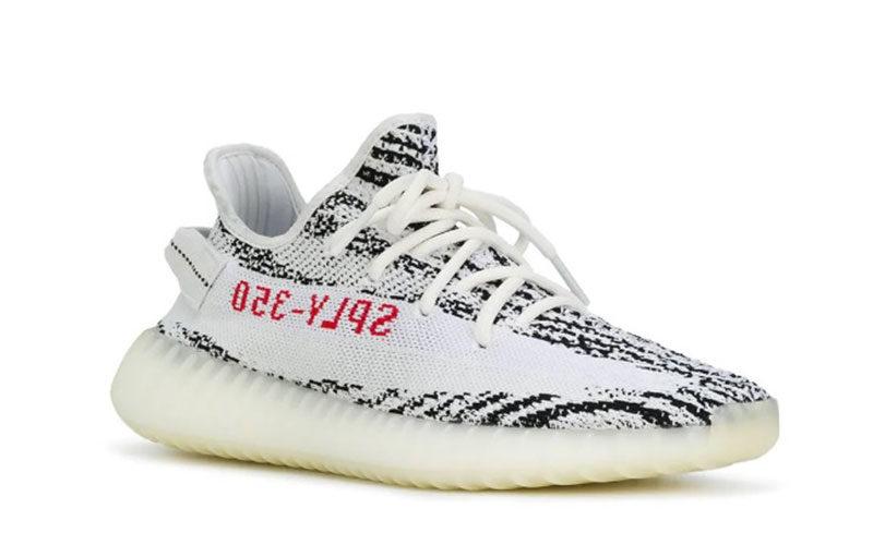 Adidas x yeezy boost 350 v2 zebra kanye west sneakers wit/zwart