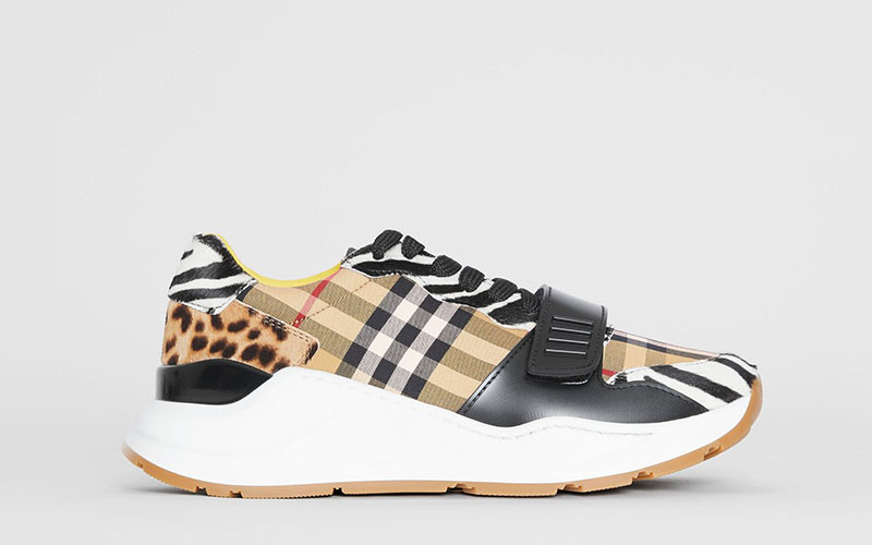 cd41e82f31a Burberry animal dames sneakers bruin/wit - Vind je in Sneakerstad