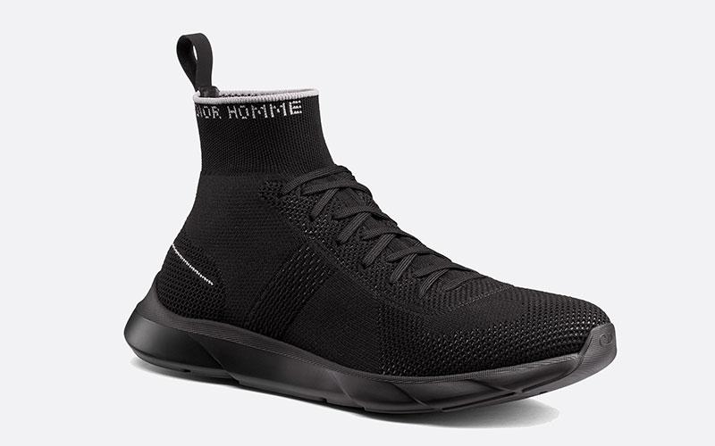 072af95723d Christian Dior b12 socks heren sneakers zwart vind je in Sneakerstad
