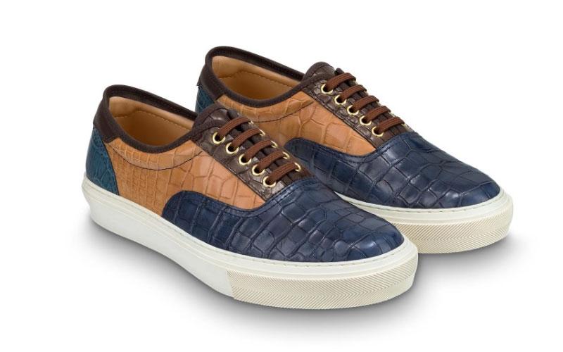 c79395d6df Louis Vuitton trocadero richelieu sneakers bruin/blauw - Vind je in  Sneakerstad