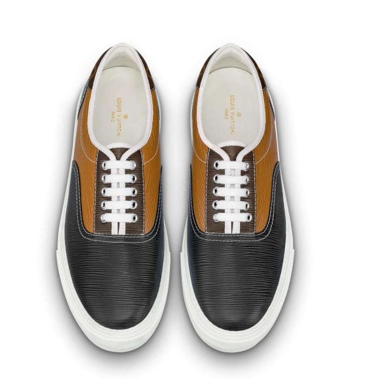 8d2894c5c0 Louis Vuitton trocadero richelieu sneakers bruin/zwart - Vind je in  Sneakerstad