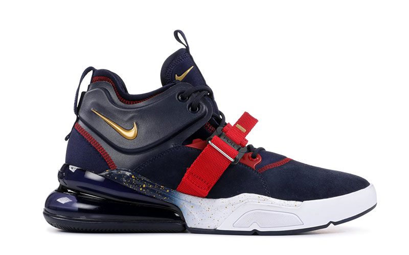 888d48e5826 Nike air force 270 sneakers donkerblauw/rood vind je in Sneakerstad