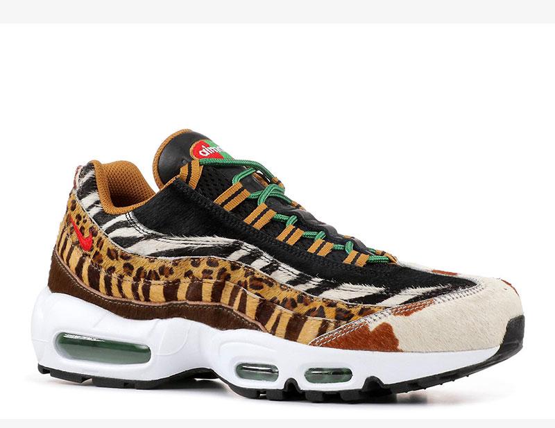 Nike air max 95 atmos animal pack 2.0 dames sneakers bruin/zwart vind je in  Sneakerstad