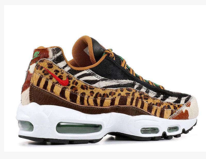 best website cbfec c89f2 Nike air max 95 atmos animal pack 2.0 dames sneakers bruin/zwart vind je in  Sneakerstad