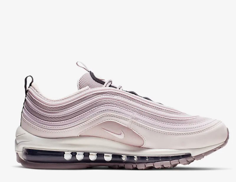 Nike air max 97 premium dames sneakers lila