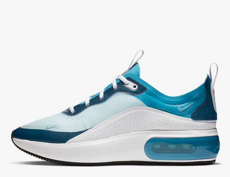 nike air max aqua blauw