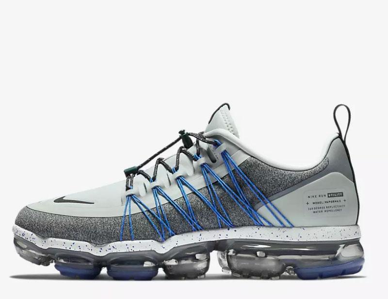watch 8f345 ef785 Nike air vapormax utility heren sneakers grijs/blauw
