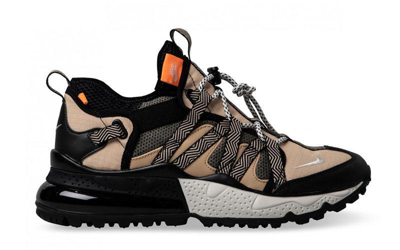 Nike air max 270 bowfin sneakers beigezwart vind je in
