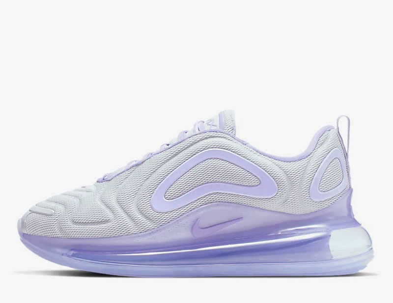 Nike air max 720 dames sneakers wit/paars