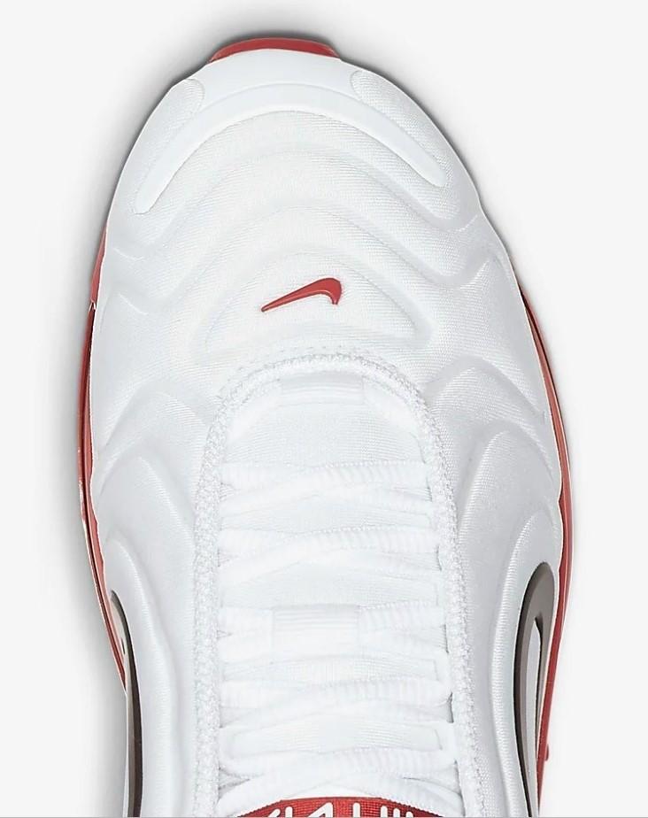 witte nike air sneakers dames