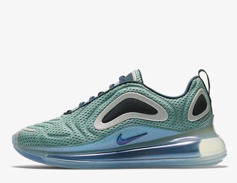 4abaf886b7e Nike air max 720 sneakers blauw/groen vind je in Sneakerstad