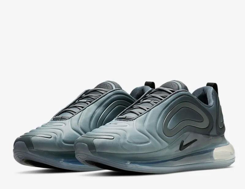 Nike air max 720 sneakers grijs vind je in Sneakerstad