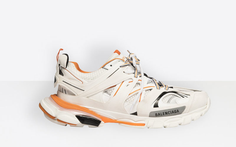 Balenciaga Track Sneaker in Pink and Blue HYPEBAE