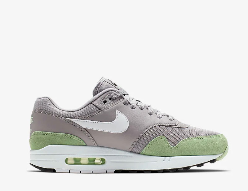 nike air max 1 gray wit coupon 8e902 39505