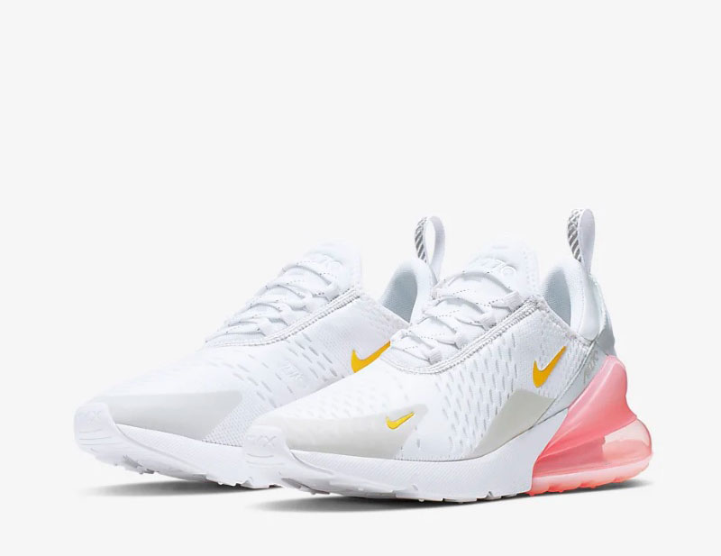 Nike air max 270 dames sneakers wit/roze vind je in Sneakerstad