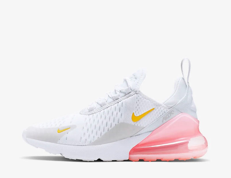 Nike air max 270 dames sneakers wit/roze