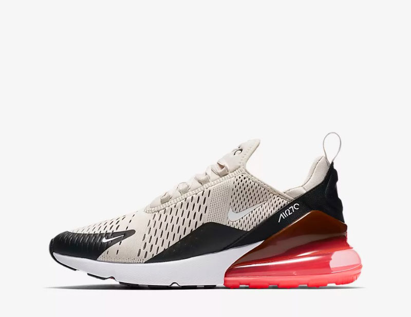 Nike air max 270 heren sneakers beigezwart