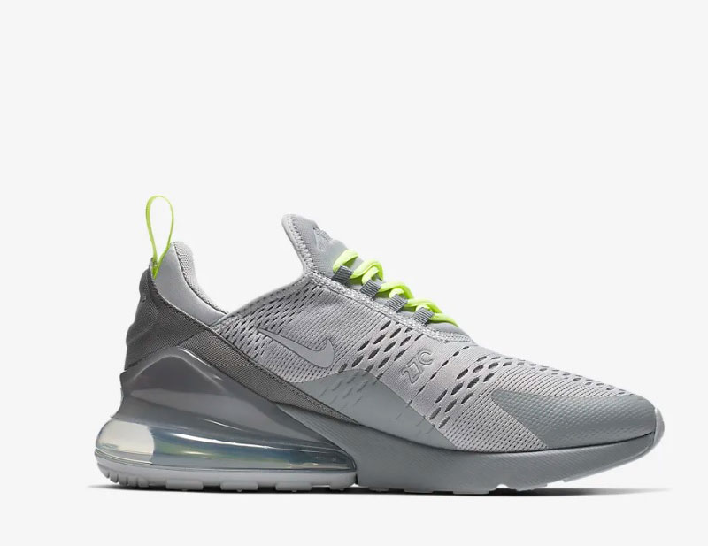 Nike air max 270 heren sneakers grijs vind je in Sneakerstad
