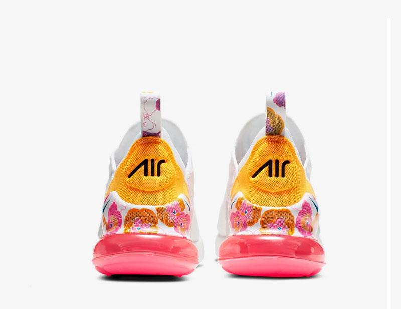 Nike air max 270 se floral dames sneakers witroze vind je in Sneakerstad