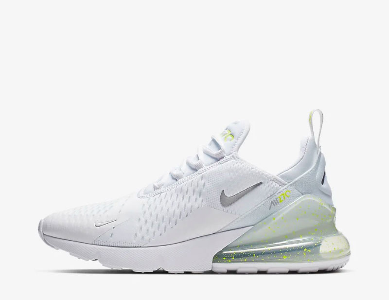 Nike air max 270 sneakers wit/geel