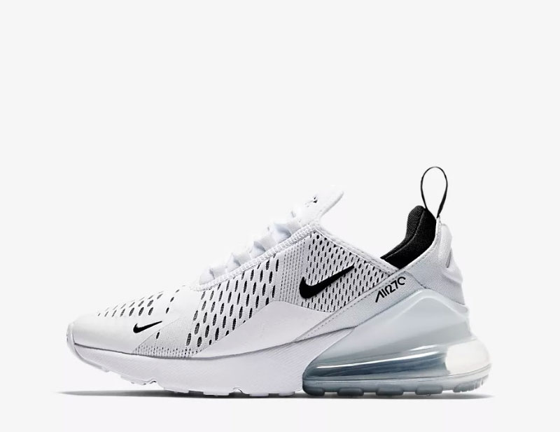 Nike air max 270 sneakers wit/zwart