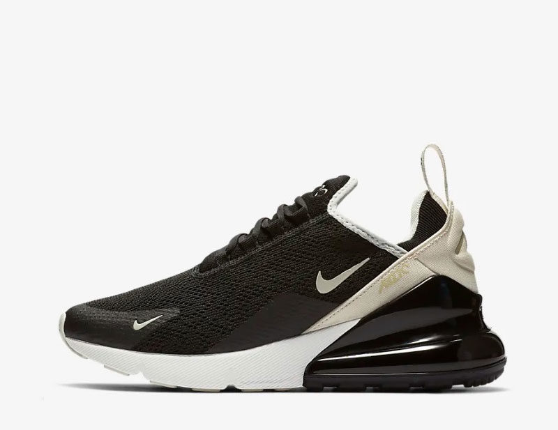 Nike air max 270 sneakers zwart/beige