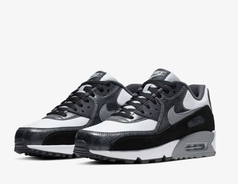Nike Airmax 90 python sneakers grijs vind je in Sneakerstad