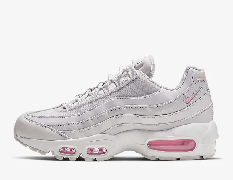 Nike air max 95 dames sneakers wit/roze
