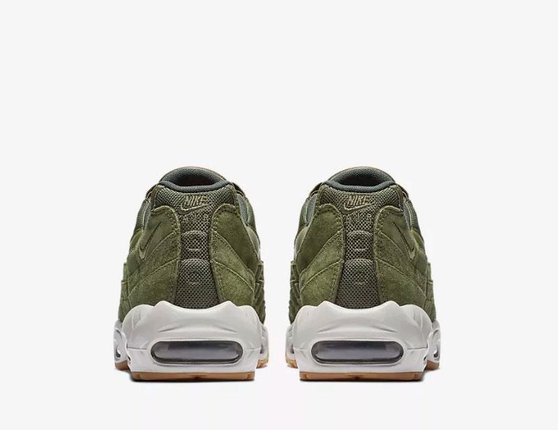 Nike air max 95 heren sneakers groen