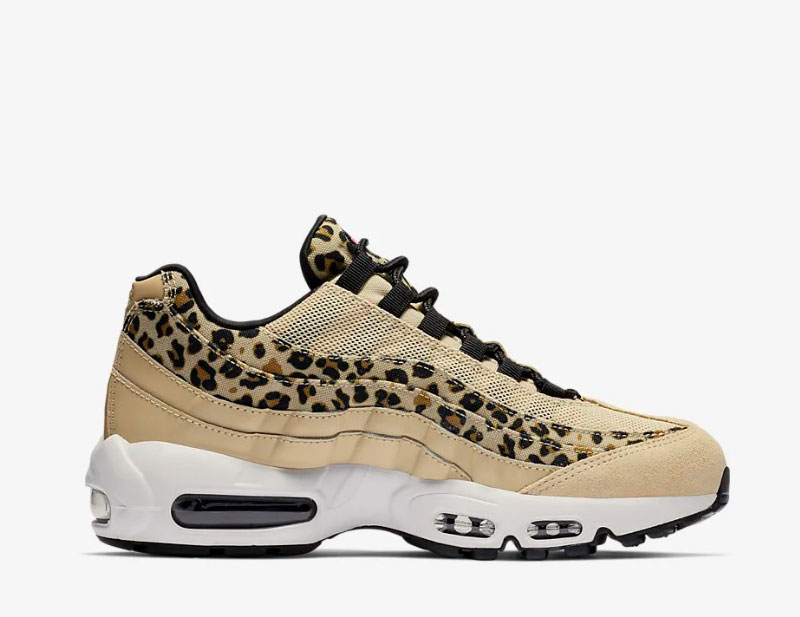 Nike air max 95 premium animal dames sneakers beige/bruin vind je in  Sneakerstad