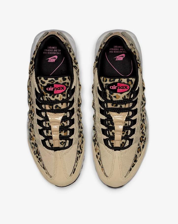 Beige Nike Air Max 95 Premium Animal